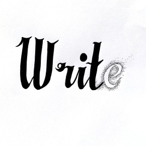 Write without the letter 'e'.